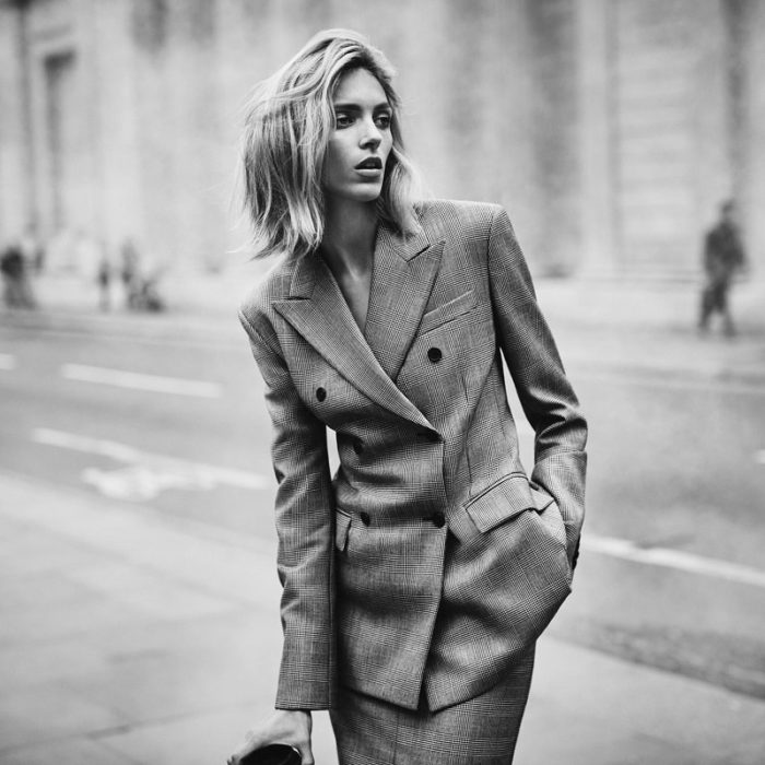 Anja Rubik by Boo George for The Edit Magazine August 2017