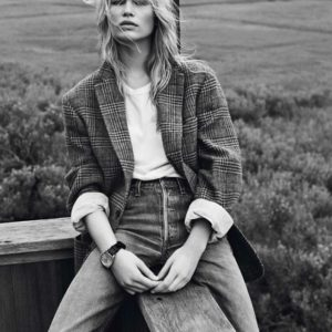 Anna Ewers by Josh Olins for Vogue Paris October 2013