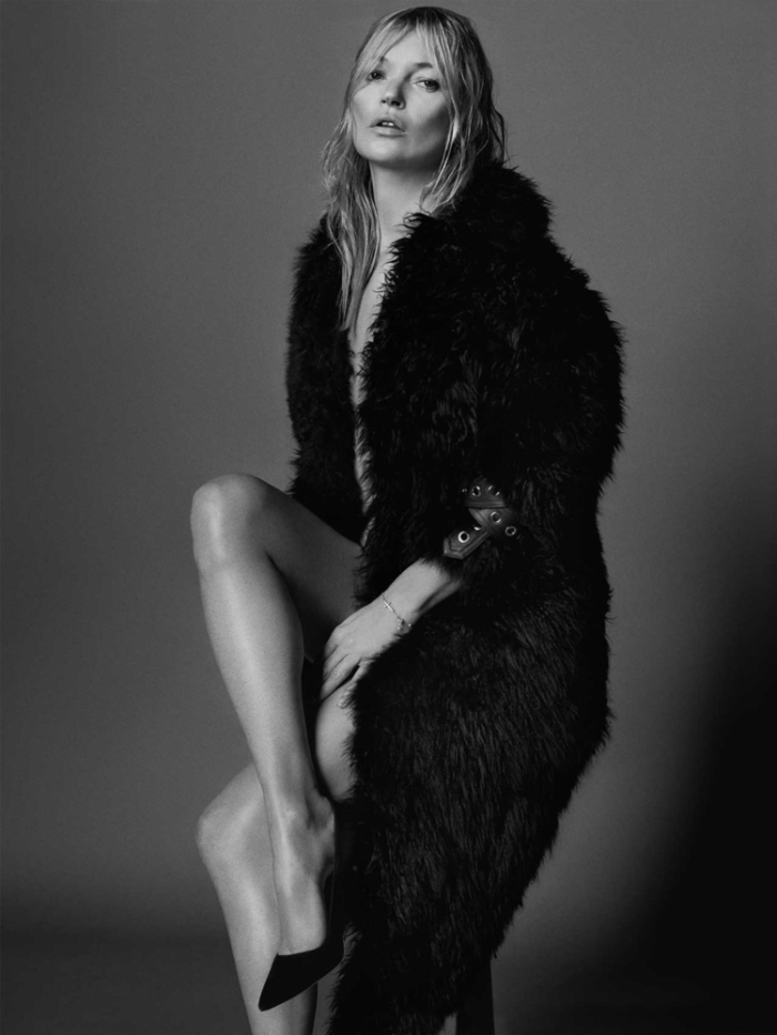 Kate Moss by Mario Testino For British Vogue September 2017
