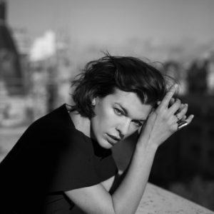 Milla Jovovich by Annemarieke Van Drimmelen for The Edit Magazine December 2013