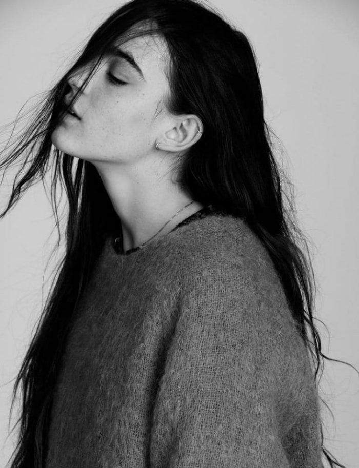 Agnes Anjou Olofsson by Tomas Falmer for Amica Magazine September 2017