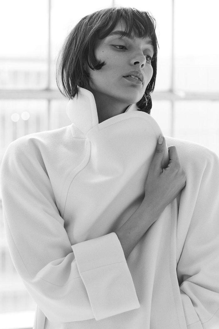 Model Charlee Fraser by David Roemer