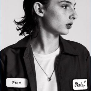 Finn Wolfhard by Sacha Maric for Nylon Guys Magazine September 2017