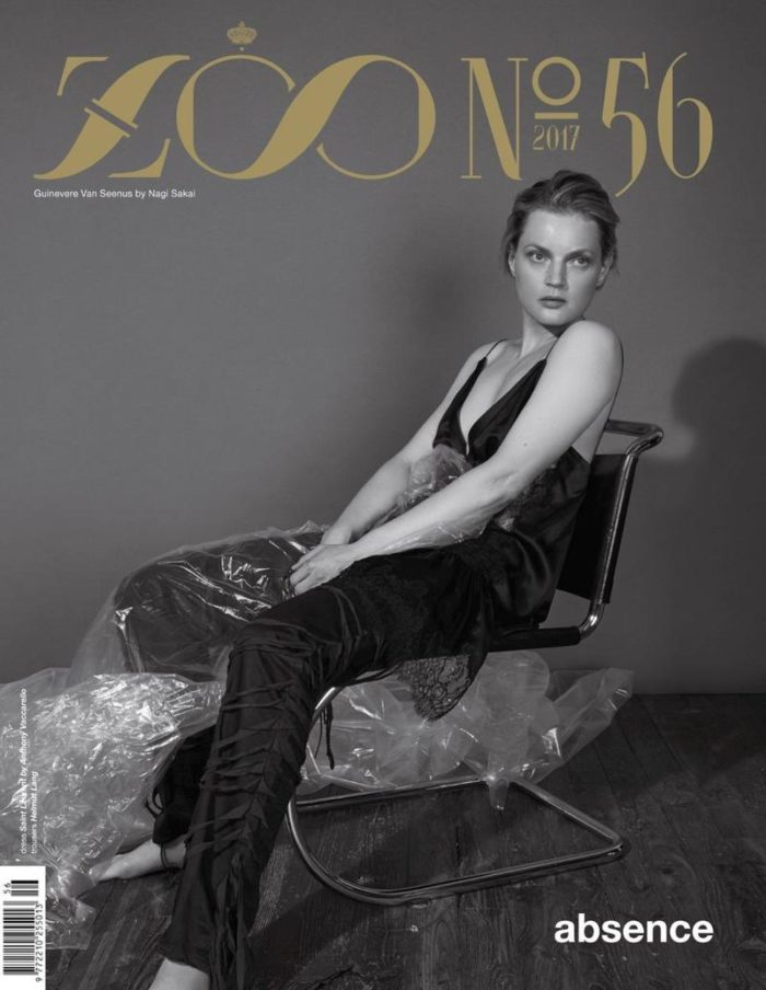 Guinevere van Seenus Covers Zoo Magazine Fall 2017