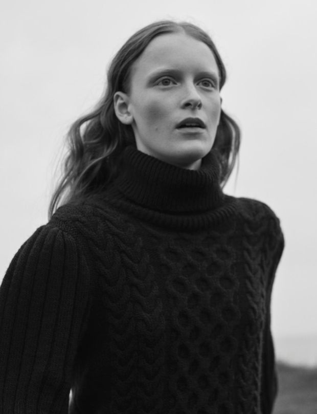 Victoria Schons by Josh Olins for Massimo Dutti Fall-Winter 2017 Ad Campaign