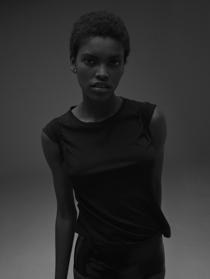 Model Amilna Estevao by Yvan Fabing