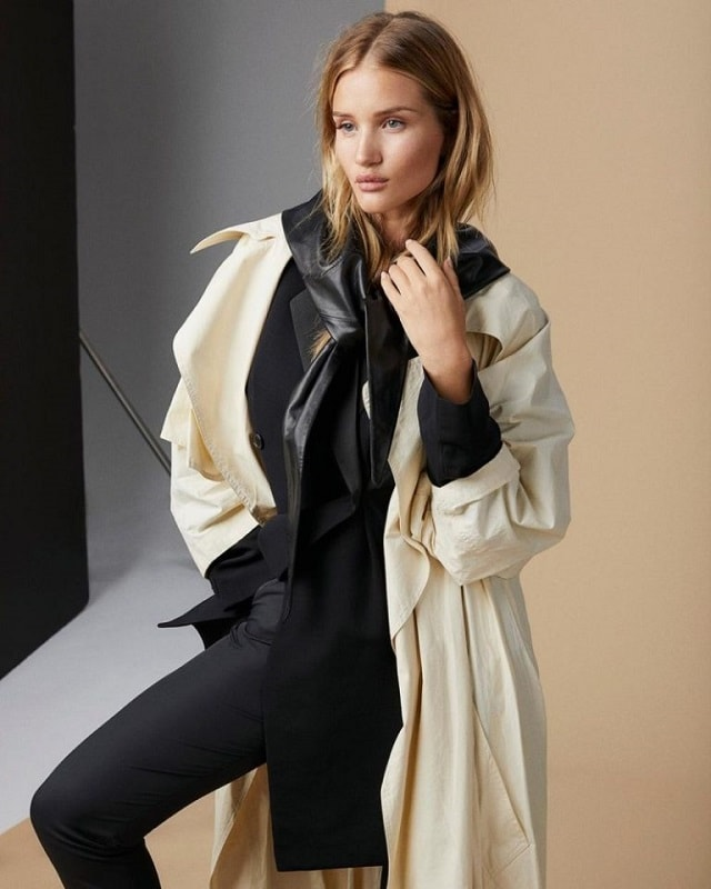 Rosie Huntington Whiteley For The Sunday Times Style