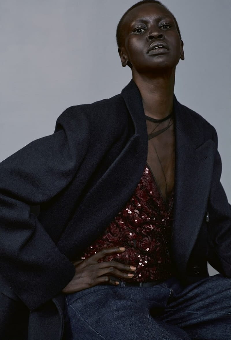 Alek Wek by Collier Schorr Katie Shillingford for Another Magazine Fall-Winter 2017