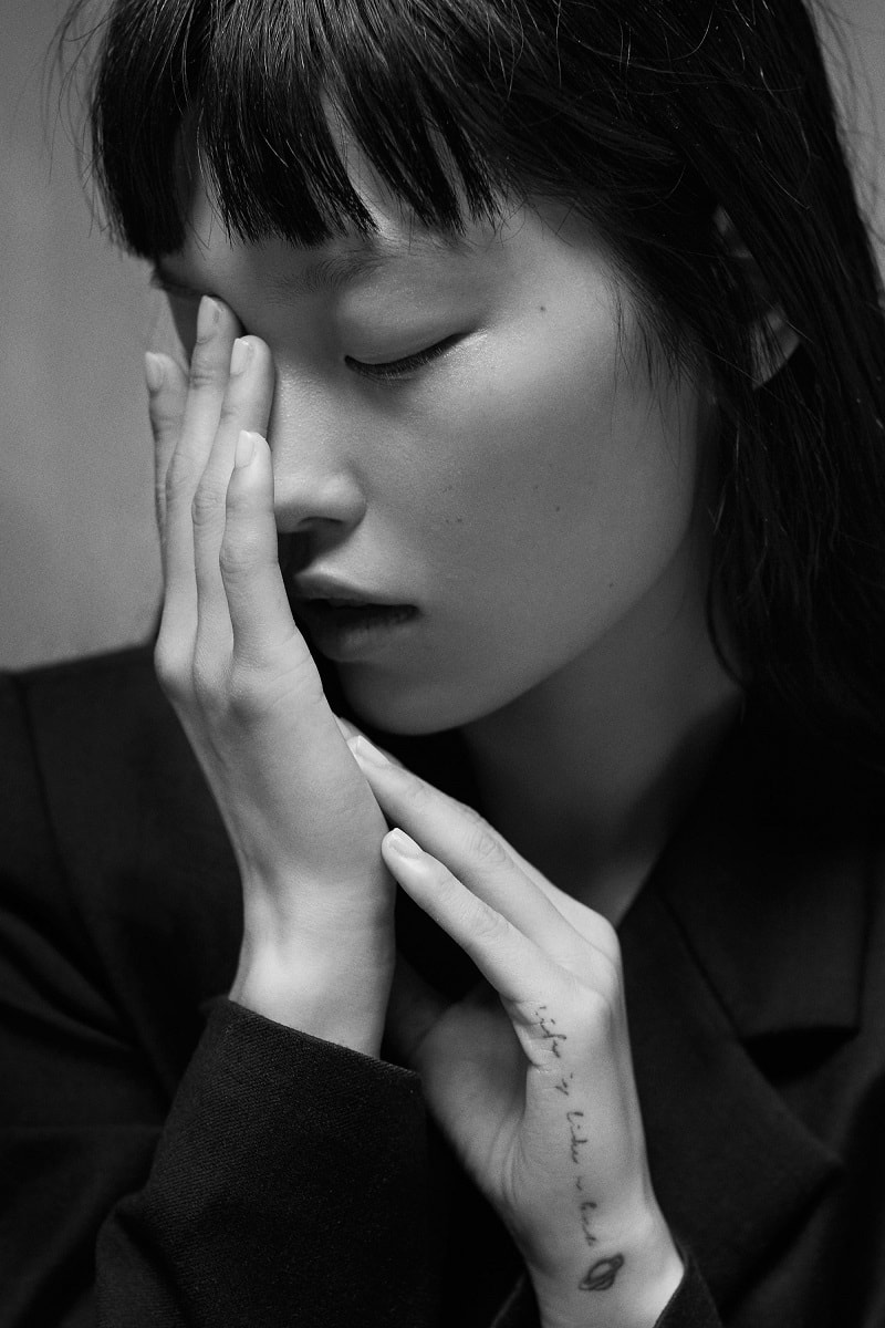 Asian Models by Photographer Hao Zeng x Connie Berg