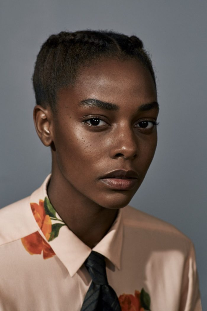 Karly Loyce by Collier Schorr and Katie Shillingford for Another Magazine Fall-Winter 2017