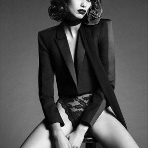 Mica Arganaraz by Iango Henzi and Luigi Murenu for Vogue Japan October 2017