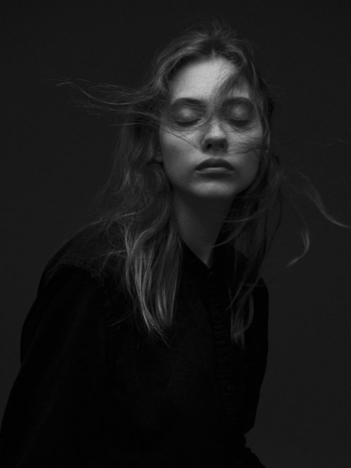 Russian Model Odette Pavlova by Yvan Fabing for Models.com - The Graduates