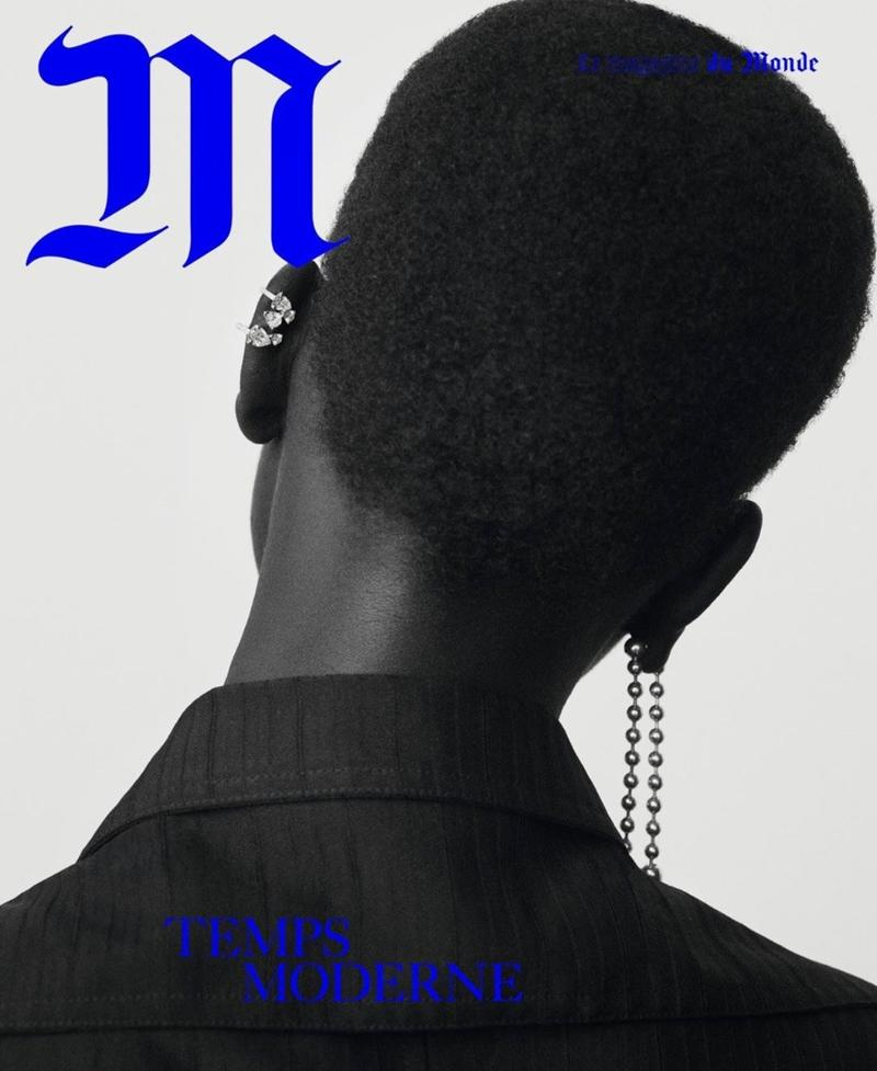 Adut Akech Covers Le Monde M Magazine November 2017