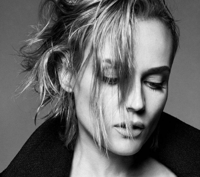 Diane Kruger by Luigi Murenu and Iango Henzi for Vogue Germany December 2017