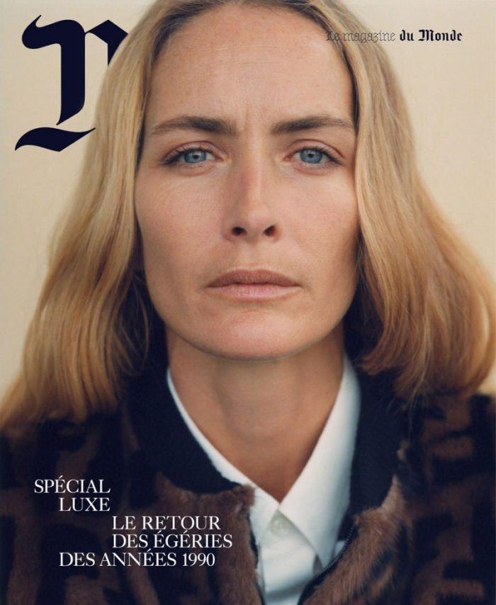 Georgina Grenville Covers Le Monde M Magazine December 2017