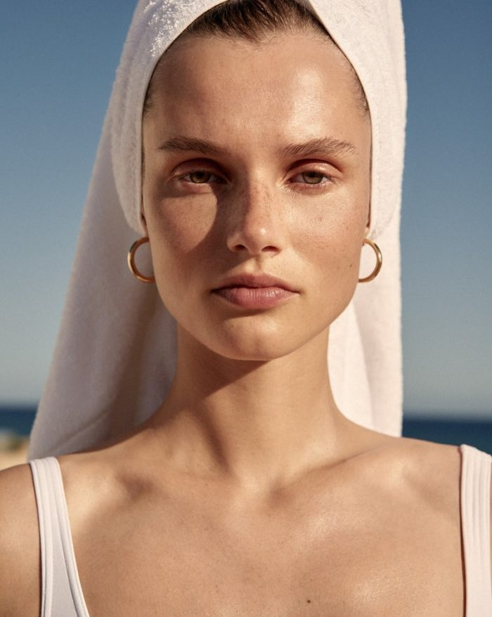 Giedre Dukauskaite by Alexandra Nataf for The Edit Magazine December 2017 - The Bare Necessities