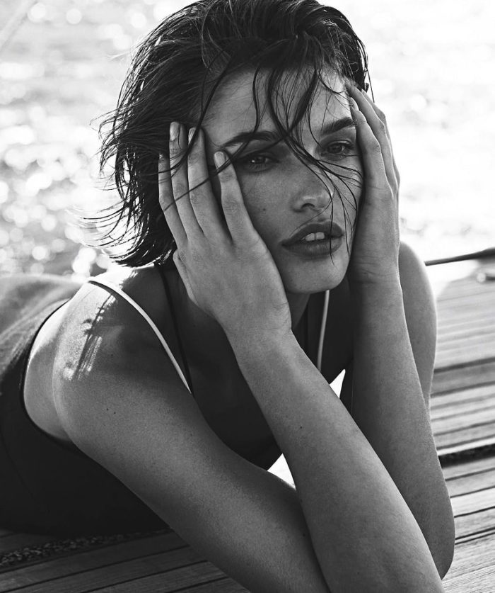 Julia Van Os in Vogue Australia December 2017 by Sebastian Kim