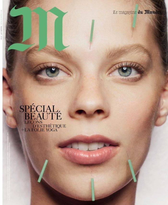 Lexi Boling Covers Le Monde M Magazine Digital Beauty Special November 2017