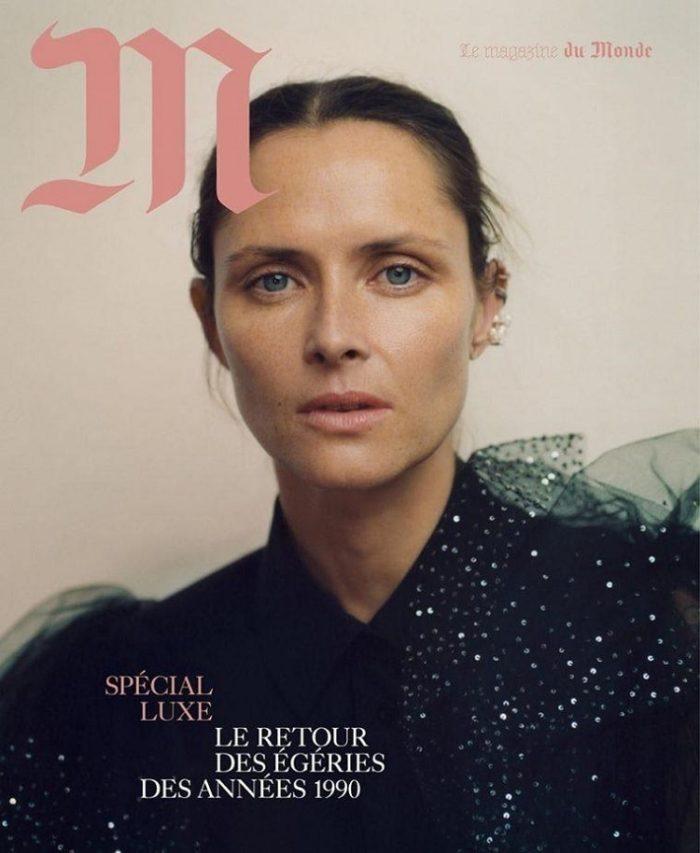 Tasha Tilberg Coverss Le Monde M Magazine December 2017