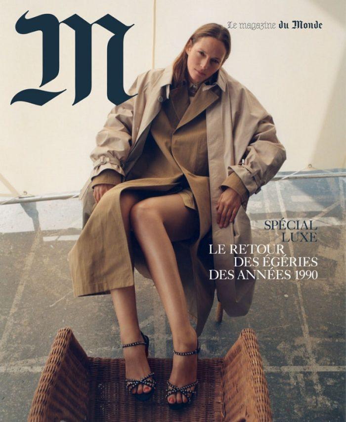 Vivien Solari Covers Le Monde M Magazine December 2017