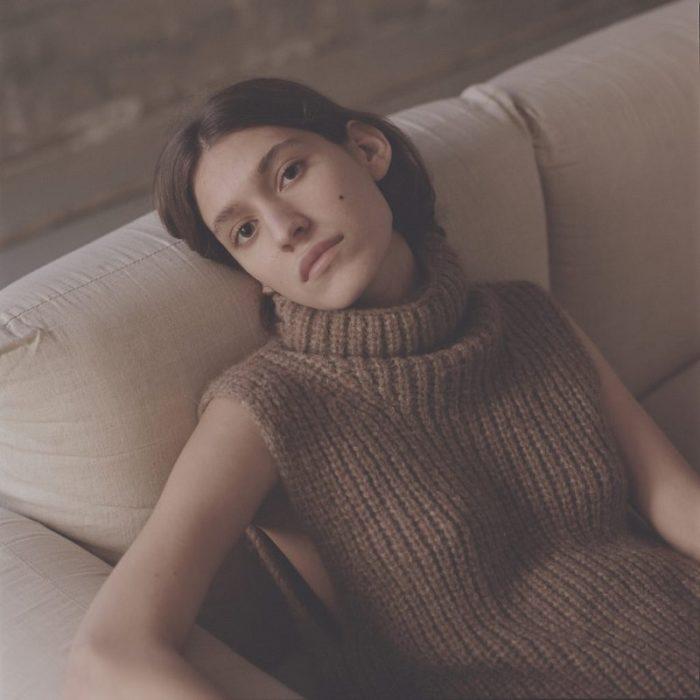 Zarina Nares by Zander Taketomo for Kinfolk Magazine - Lauren Manoogian Knitwear