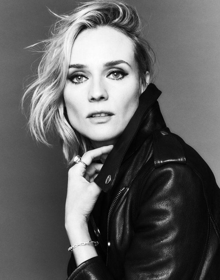 Diane Kruger by Johnny Kangasniemi for Elle France January 2018