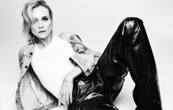 Actress Diane Kruger for Elle France January 2018