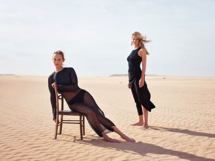 Amber Valletta, Anna Ewers by Mario Sorrenti for Mango Spring-Summer 2018 Ad Campaign