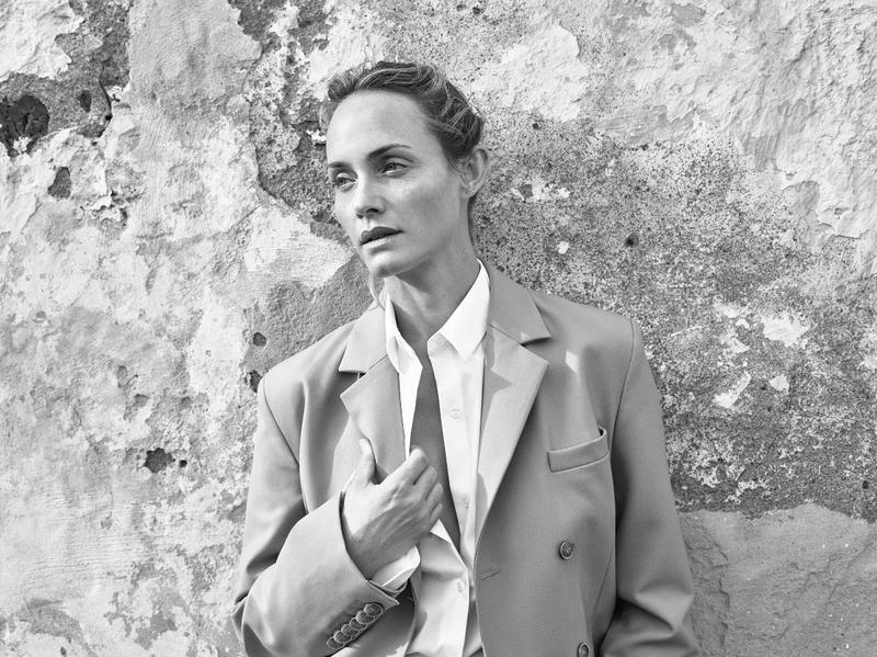 Amber Valletta by Mario Sorrenti for Mango Spring-Summer 2018
