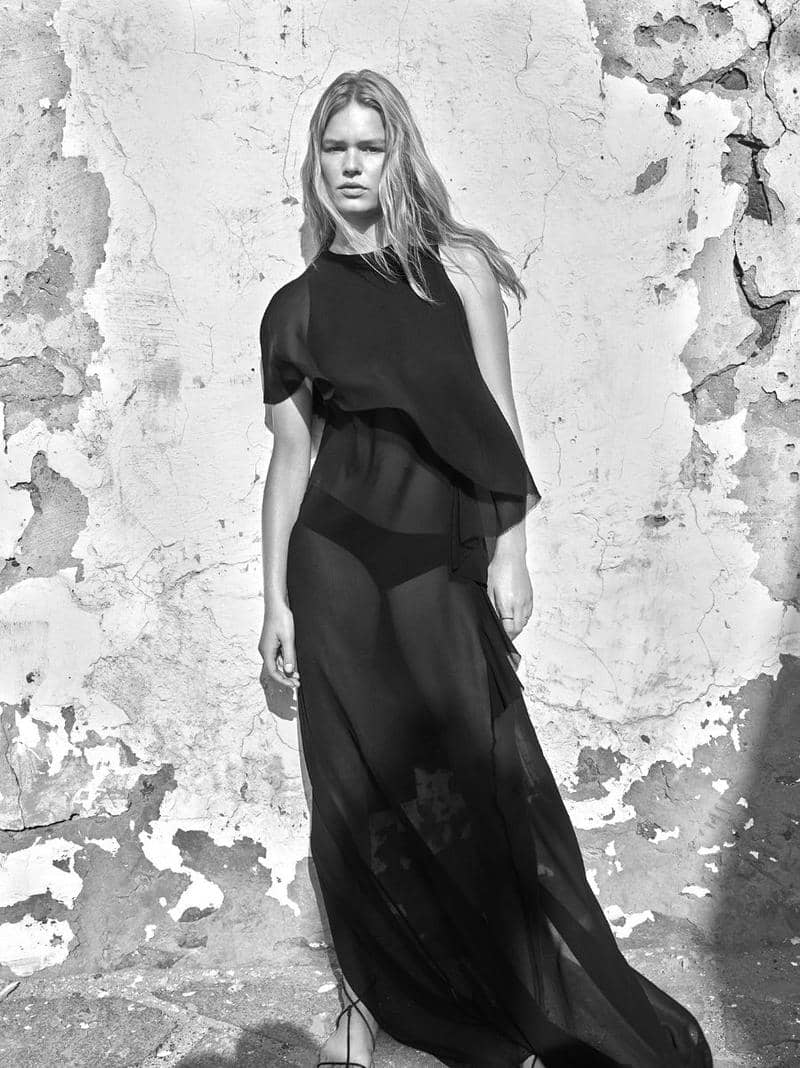 Anna Ewers by Mario Sorrenti for Mango Spring-Summer 2018 Ad Campaign