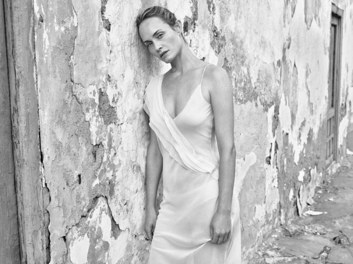 Amber Valletta by Mario Sorrenti for Mango Spring-Summer 2018 Ad Campaign