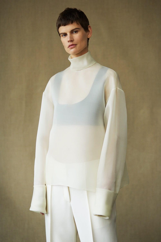 Saskia de Brauw for The Row Spring 2019 Lookbook - Minimal. / Visual.