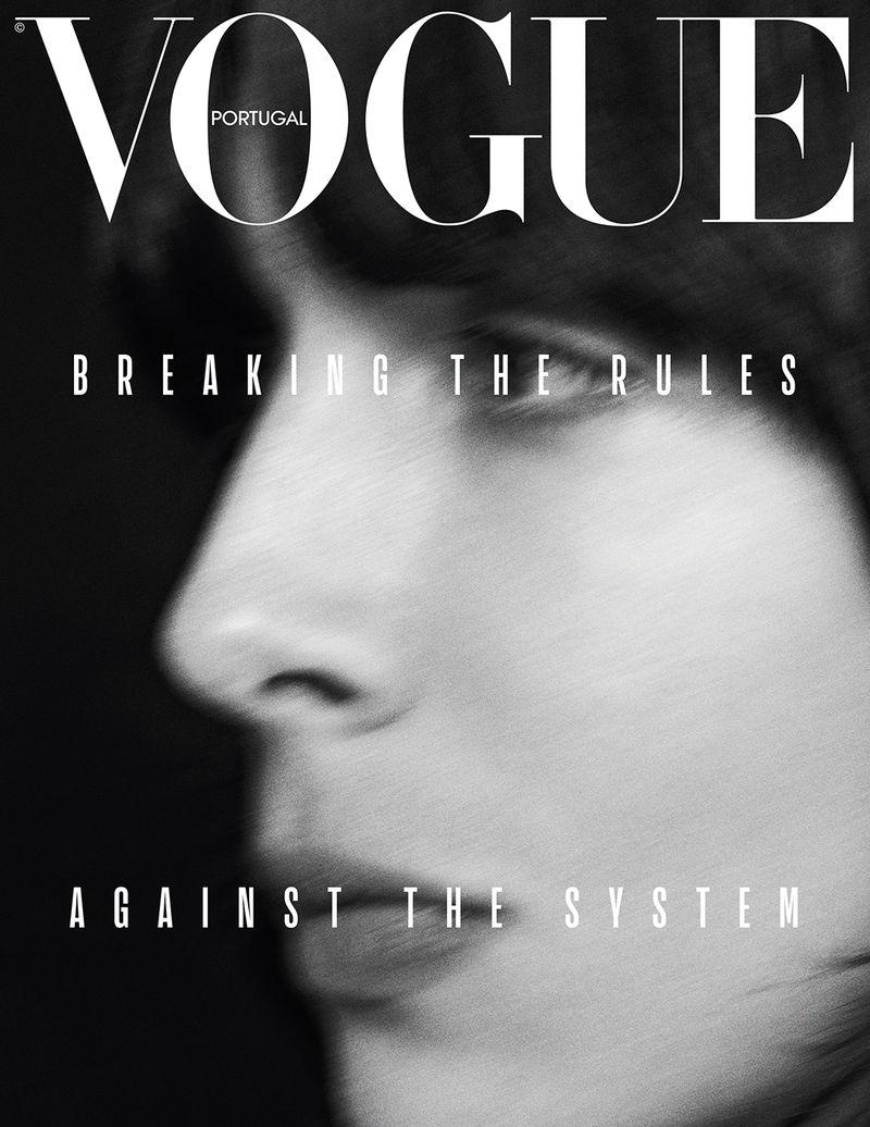 Jamie Bochert Covers Vogue Portugal March 2019