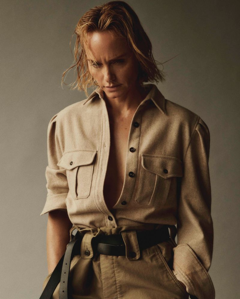 Amber Valletta by Daniel Jackson for The Sunday Times Style Magazine UK June 2019