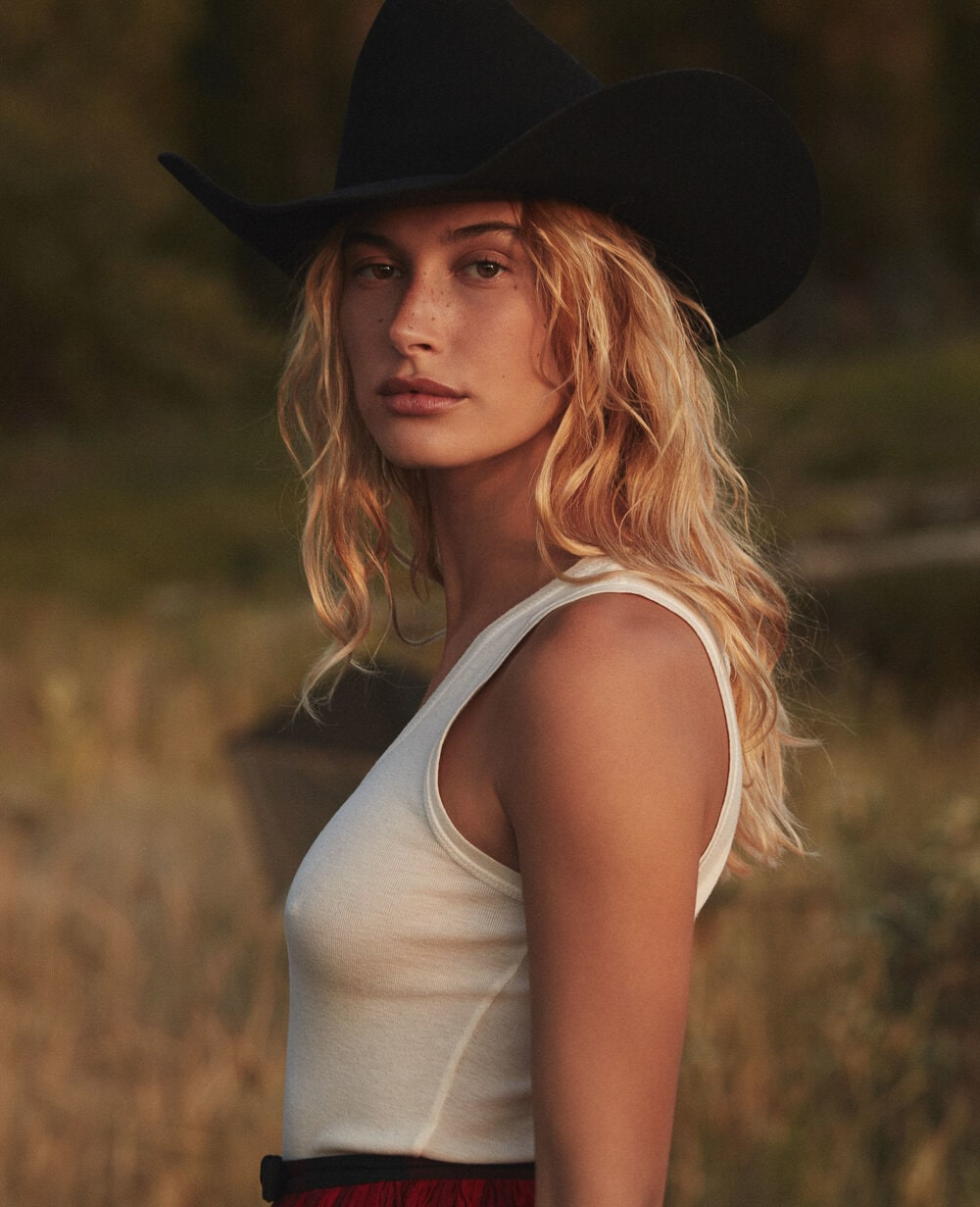 Hailey Bieber by Daniel Jackson for American Vogue October 2019