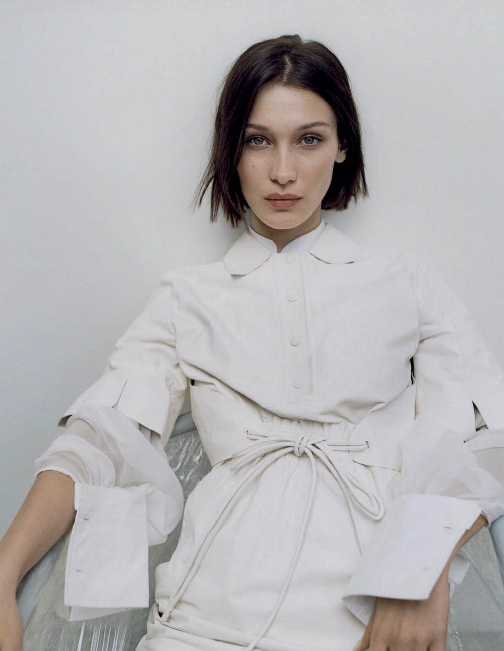 Bella Hadid by Zoe Ghertner for Vogue Italia March 2020